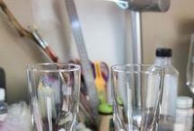 pynting,glass
