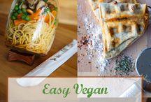 Easy Vegan Dorm Food
