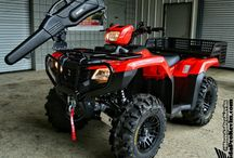 Custom Honda ATV / Four Wheeler Pictures