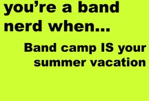 Music Nerd. / Yepp, I'm one of those crazy band kids, and I'm gosh darn proud of it! ♪ / by Rachel Keeble