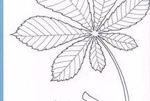 Jesienne, liście