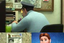 Disney, Dreamworks, Pixar