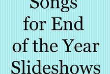 Songs for end of year