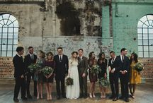 Industrial Chic Wedding / Industrial textures and elements combine with soft romantic touches for a chic wedding / by Beau-coup
