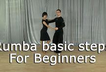 Basic dance steps (Ballroom dancing) / Learn Ballroom dancing with these 4 basic dance steps from passion4dancing.com