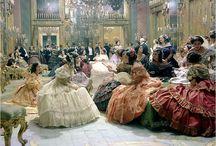 Un bal au XIXe siècle