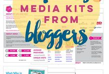 Blogging media kits