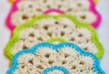 Crochet Coasters, Doilies, Mats & Dishcloths / Small crochet items