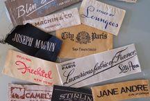 Vintage Apparel Labels