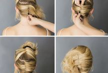 tutorial hair bun