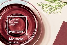 Crossville Looks at Pantone 2015 Color of the Year: Marsala / Marsala is Pantone's 2015 Color of the Year. This hue is an earthy red, a subtle wine-inspired tone that holds lots of possibilities. / by Crossville Tile