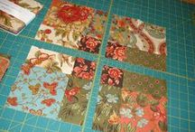Charm square quilts