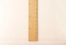 Height charts / by Anne Sprosen