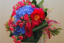 Buchete hortensie / Hortensia bouquets / http://www.florariamobila.ro/buchete-de-flori/buchete-hortensii.html