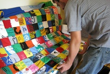 t shirt quilt ideas / by Heather Southwell