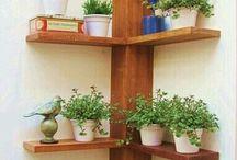 estantes para macetas