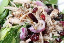 Salads / Salad recipes and ideas. Green salads, fruit salads and more.