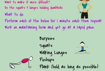 Workouts / by Committed To Getting Fit