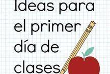 ideas primer día de clase