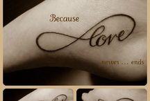 tattoos / by Jodi Trussell