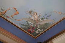 Ζωγραφική στο ταβάνι