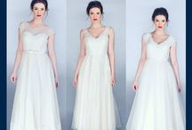 Pearlarose / An eclectic new collection inspired by the magical classics of a whimsical era, designed with the fashion-forward bride in mind. Offering gowns for the budget-conscious bride, looking for vintage dresses with delicate vintage style laces, soft feminine tiles and luxurious silky statins.