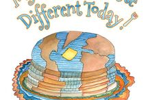 My Pancakes Taste Different Today! / My Pancakes Taste Different Today! is a tasty tale of a precocious young boy who discovers that his little actions have a big impact the whole wide world....Especially his pancakes!