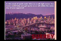 Car Title Loans Surrey BC
