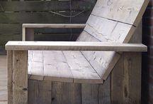 Diy wood oudoor chairlift door chair