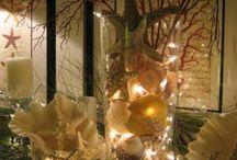 Coastal christmas / Coastal decorating for Christmas