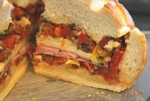 Sandwiches / by Linda J Loendorf