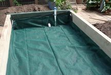 Raised garden beds // Wicking Beds / Raised garden beds, wickingbed, diy Odlingsbänkar, självbevattning  Gardening Odling  Worm Towers