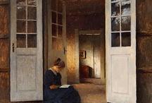 arte - Peter Vihelm Ilsted (1861-1933) / arte - pittore danese