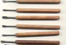 Dřevo nářadí a technika