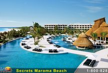 Secrets Maroma Beach Riviera Cancun / Secrets Maroma Beach Riviera Cancun beckons along a shoreline recognized as a 'World's Best Beach' by the Travel Channel. This exquisite AAA Five Diamond resort boasts sublime ocean views from 75 percent of its suites, as well as ground floor suites with direct swim-out access. Go Dream Vacations  www.godreamvacations.com