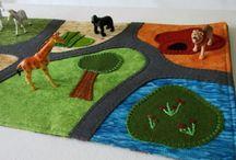 Zoo playmat