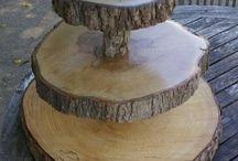 mit Holz bauen/basteln