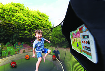 tgoma - Take GamesOutside and Make Them Active /  Springfree Trampoline featuring tgoma is the first outdoor interactive digital game system that encourages kids to go outside and be active. We've combined our high-quality and safety conscious design with tgoma's unique outdoor digital game system to elevate the backyard experience for jumpers of all ages.