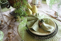 Tablescapes / Table dressing