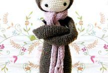 °* Tricot & crochet * Doudous *°