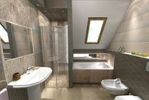 Naturalne Stone Trawertyn Marmur Lotos Beige Bathroom Design - My Project / Natural Stone Bathroom Design