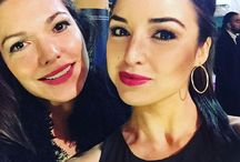 Laura Harring and Jessica Meraz