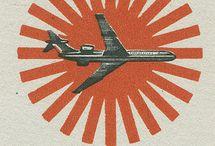 airlines vintage / ads