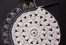 círculos crochet