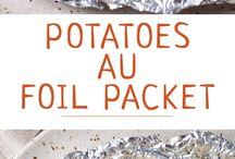 bijgerechten en aardappel