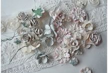 All things shabby chic  / I really love shabby chic  and vintage styles. Soft pastel tones lace and romance you'll find it all here