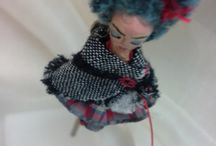 Jewelleries dolls.6 to 10 cm total size.