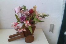 Dulce Rocio / Arreglos florales con frutos de cobertura de chocolate...