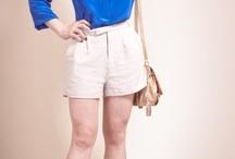 blusa e shorts