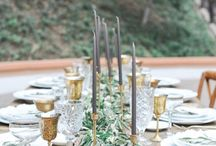wedding colors and decor